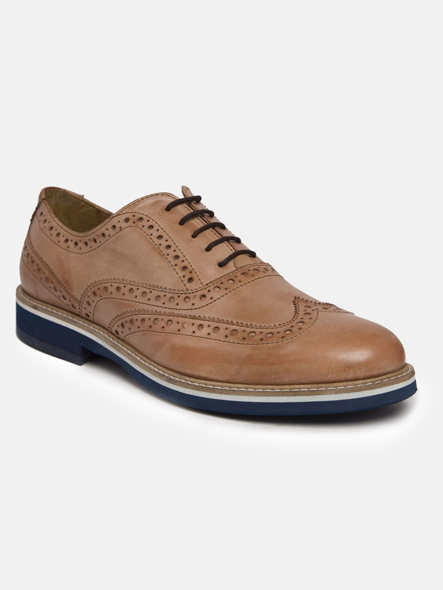 genuine leather Brogues Shoes