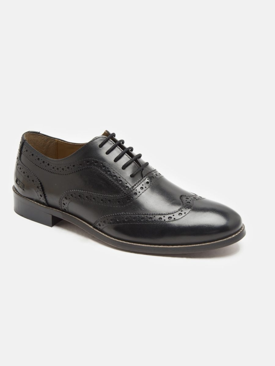 Black brogues Shoes