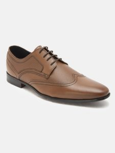 Genuine Leather derby shoes