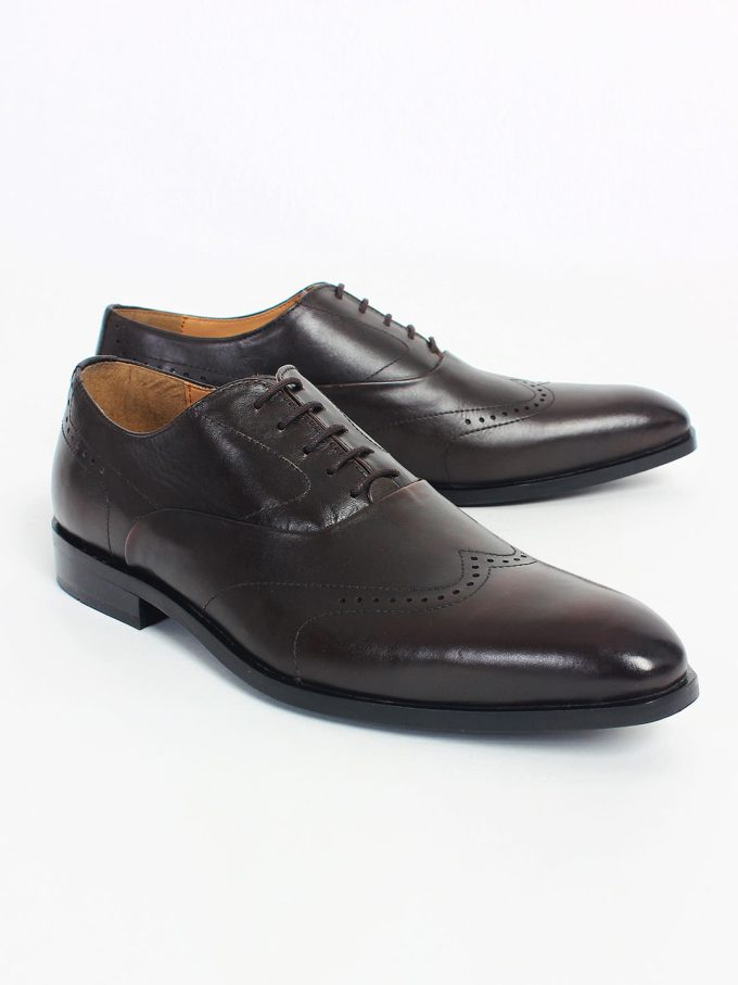 Leather Brown Oxford shoes
