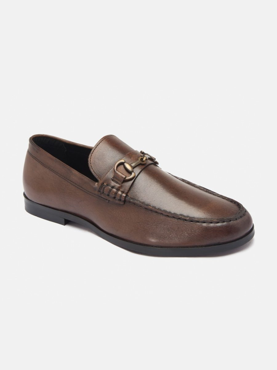 Leather Brown Loafers