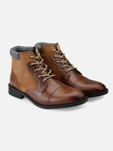 Leather Brown Ankle Boots
