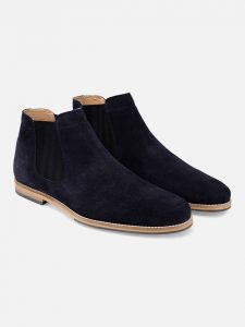 Suede Leather Chelsea Boots